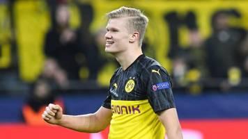 Treffer zum 2:1-Sieg - Champions League: BVB feiert Naturgewalt Haaland