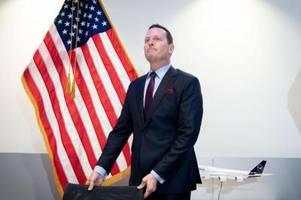 Trump will Botschafter Grenell als Geheimdienstkoordinator