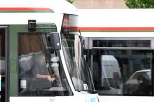 hauptbahnhof: bald fahren wieder trams und busse