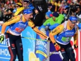 biathlon-wm: preuß und lesser holen silber in single-mixed-staffel