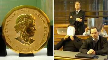 spektakuläre straftat im bode-museum : urteil gegen berliner goldmünzen-diebe: drei haftstrafen und ein freispruch