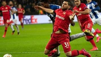 Europa League: Sieg nach Video-Wirrwarr: Leverkusen schlägt FC Porto