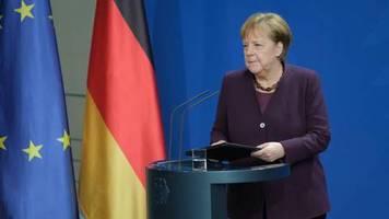 Hassverbrechen: Merkel zu Hanau: Rassismus ist ein Gift, der Hass ist ein Gift. Und dieses Gift existiert in unserer Gesellschaft