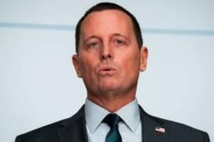 US-Politik: Berlins US-Botschafter Grenell wird Trumps Geheimdienstchef