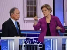 tv-debatte der us-demokraten: bloomberg fehlen die argumente