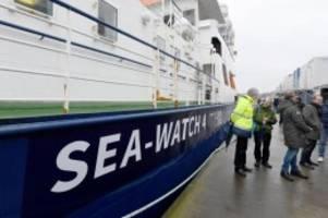 flüchtlinge: sea-watch 4 getauft: erster einsatz im april