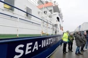 flüchtlinge: ehemalige poseidon: sea-watch 4 läuft im april aus