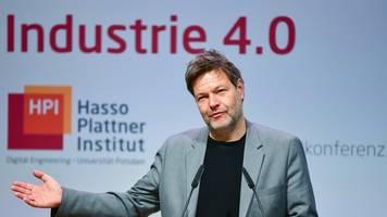Grünen-Chef auf Konferenz - Habeck: Digitalisierung macht Energiewende erst möglich