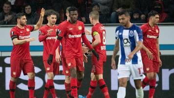 Europa League - Sieg nach Video-Wirrwarr: Leverkusen schlägt FC Porto