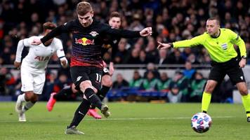 Nagelsmanns RB Leipzig überrascht dank Werner-Tor bei Mourinhos Tottenham