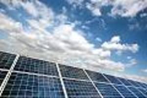 streit über landnutzung vorprogrammiert - solar-energie boomt wie nie - doch nun werden die flächen knapp