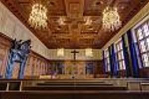 saal 600 im nürnberger justizpalast - im berühmtesten gerichtssaal der welt fiel jetzt das letzte urteil