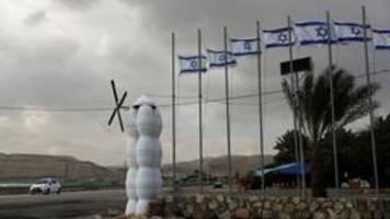 israel und palästinenser beenden handelsstreit