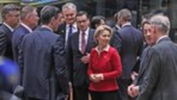 Sondergipfel: EU-Gipfel endet ohne Einigung auf gemeinsamen Haushalt