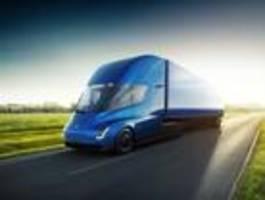Musk will Sonntagsfahrverbot für E-Lkw aufheben lassen