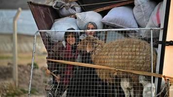 region idlib: flüchtlinge in syrien: langsam gehen den helfern die worte für die dramatik aus