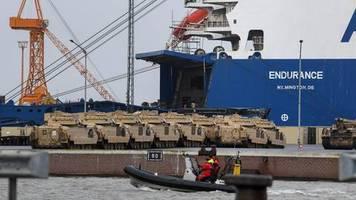 Militärmanöver: Defender Europe 20: USA verlegen Truppen und Panzer im großen Stil nach Osteuropa