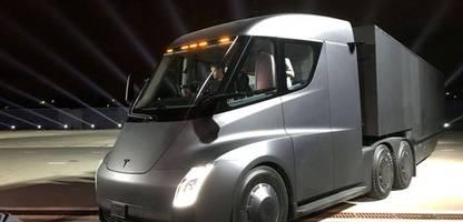Tesla: US-Hersteller will Sonntagsfahrverbot für Elektro-Lkw abschaffen