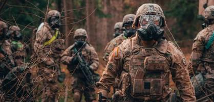 Tausende US-Soldaten landen für militärische Großübung in Norddeutschland