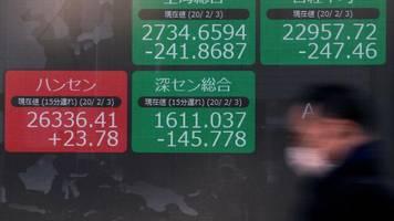 Asien: Japan will ausländische Investoren stärker überprüfen