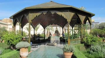 das haben die gärten von marrakesch zu bieten