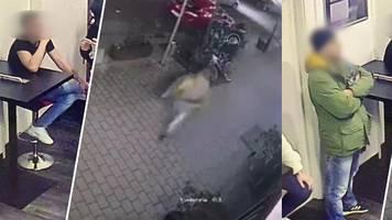anschlag in hanau: zeigt video aus tatnacht tobias r. vom tatort rennen?