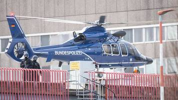 montenegriner wird ausgewiesen: mutmaßliches clan-mitglied verlässt klinik richtung airport