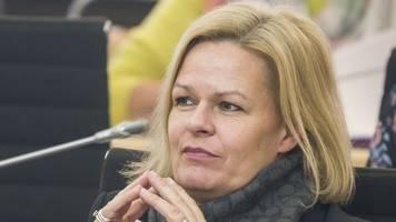 SPD-Vorsitzende Faeser: Demokratieerziehung schon in Kitas
