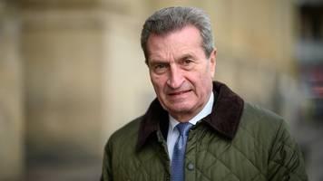 oettinger fordert neue regionalkonferenzen