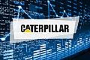 caterpillar-aktie aktuell - caterpillar fällt 0,8 prozent