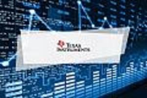 Texas Instruments-Aktie Aktuell - Texas Instruments mit deutlichen Kursverlusten von 3,2 Prozent