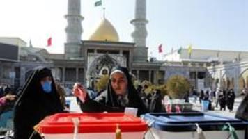wahl im iran: ich will viele wähler sehen
