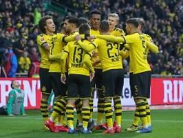 Köln demütigt Slapstick-Hertha: BVB jagt den FC Bayern, Gladbach patzt