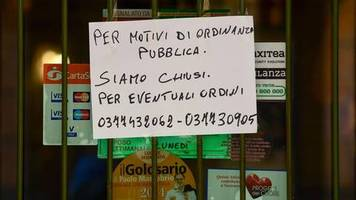 Coronavirus: Italienische Medien melden zweiten Todesfall in Lombardei-Region