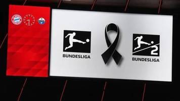 Bundesliga: Trio auf Bayern-Jagd - Fußball setzt Zeichen gegen Hass