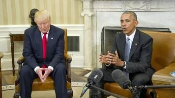 Zwists unter US-Präsidenten: Donald Trump vs. Barack Obama – Twitter-Dauerfeuer und Treffer über Bande