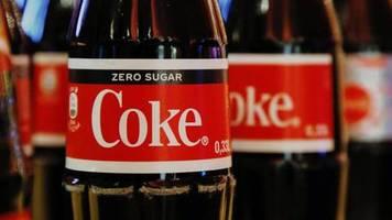 Getränkekonzern: Zero Sugar beflügelt Coca-Cola-Geschäft in Deutschland