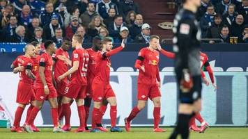 Bundesliga: Leipzig mit Kantersieg auf Schalke erster Bayern-Verfolger