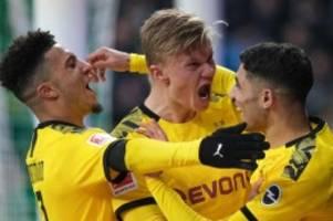 23. Spieltag: BVB bleibt an Bayern dran - Köln blamiert die Hertha