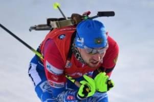 Biathlon-WM: Doping-Razzia: Weltmeister Loginow von Polizei verhört