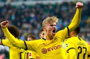 Fußball-Bundesliga: Haaland trifft schon wieder – Köln deklassiert Hertha