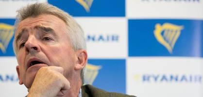 Ryanair-Chef will strengere Flughafen-Kontrollen für Muslime