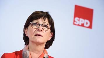 Esken: CDU muss Regierungsbildung in Thüringen ermöglichen