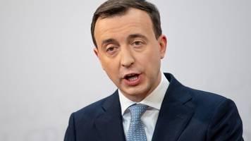 ziemiak gegen wahl von linkem regierungschefs mit cdu-hilfe