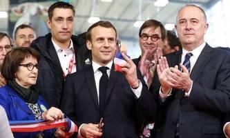 französischer präsident: wir stehen hinter unseren bauern