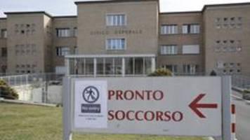Italien meldet ersten Coronavirus-Todesfall