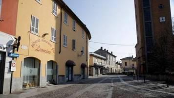 Coronavirus: Italien will besonders stark betroffene Städte isolieren – wenn nötig mithilfe des Militärs