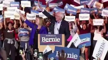 Video: Sanders nach ersten Auszählungen in Nevada klar vorn