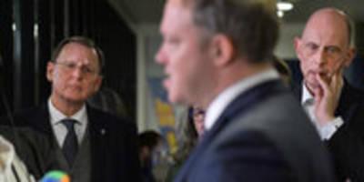Thüringen-Einigung kippelt wieder: Ramelow glaubt an sich