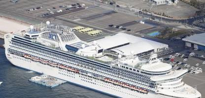 Kreuzfahrtschiff Diamond Princess: Dutzende neue Coronavirus-Infektionen